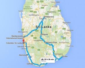 Harta-Tur-SRI-LANKA